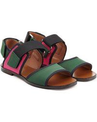 Marni - Colorblock Sandals - Lyst