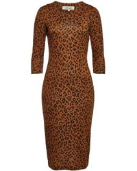 Diane von Furstenberg - Saihana Printed Silk Dress - Lyst