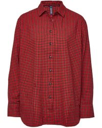 Woolrich - Checked Cotton Shirt - Lyst