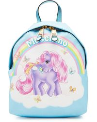 Moschino | Little Pony Printed Backpack | Lyst