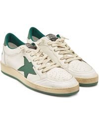 Golden Goose Deluxe Brand Ball Star Leather Sneakers