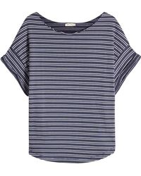 American Vintage - Striped T-shirt With Cotton - Lyst
