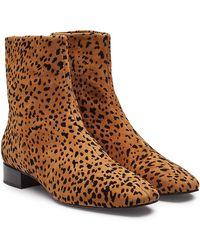 Rag & Bone - Aslen Animal Print Ankle Boots - Lyst