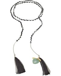Missoni - Braided Chain Tassel Bracelet - Lyst