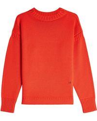Victoria Beckham - Guernsey Merino Wool Pullover - Lyst