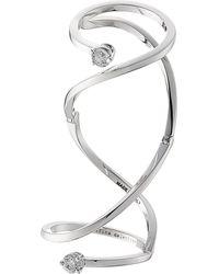 Delfina Delettrez - 18kt White Gold Ring With White Diamonds - Lyst