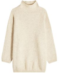 American Vintage - Turtleneck Pullover With Baby Alpaca And Cotton - Lyst