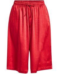 Y-3 - Satin Shorts - Lyst