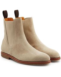Ludwig Reiter - Suede Ankle Boots - Lyst