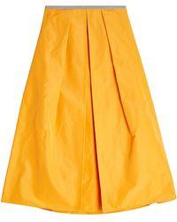 Jil Sander Navy - A-line Skirt - Lyst
