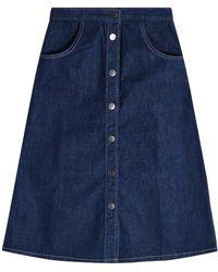 M.i.h Jeans - Midirock Callcott aus Denim - Lyst