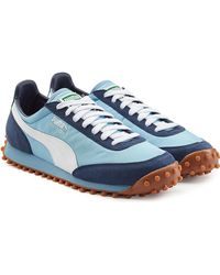 PUMA - Fast Rider Og Trainers With Leather - Lyst