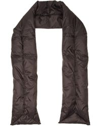 Acne Studios - Scarf With Down Filling - Lyst