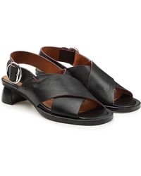 JOSEPH - Sirp Leather Sandals - Lyst