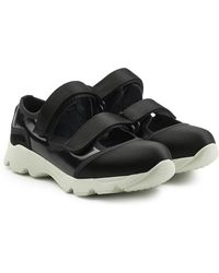 Marni Sneakers With Straps - Black