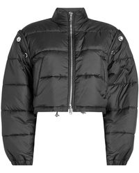 3.1 Phillip Lim - Quilted Bomber Jacket With Detachable Sleeves - Lyst