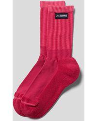 Jacquemus Socken mit verstärkter Sohle - Pink