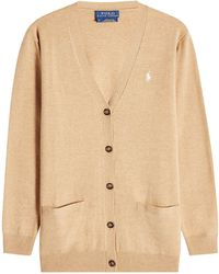 Polo Ralph Lauren - Wool Cardigan - Lyst
