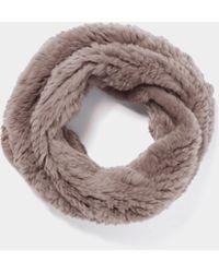 Yves Salomon - Loop-Schal aus Fell - Lyst