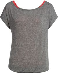Splendid - Short Sleeved Jersey Top - Lyst