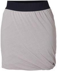 American Vintage - Cotton Twisted Drape Mini-skirt - Lyst