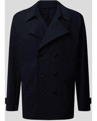 Harris Wharf London Jacke mit Reverskragen - Blau