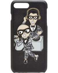 Dolce & Gabbana - Iphone 7 Plus Leather Case - Lyst