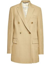 Golden Goose Deluxe Brand Valerie Coat - Natural