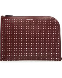 Alexander McQueen | Studded Leather Pouch | Lyst