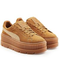 PUMA | The Cleated Creeper Trainers With Suede | Lyst