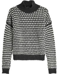 HUGO - Suzan Pullover With Wool And Alpaca - Lyst