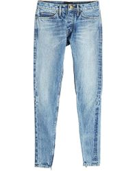 Fear Of God - Slim Leg Jeans mit Zippern - Lyst