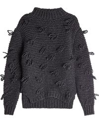 Simone Rocha - Pullover With Alpaca And Virgin Wool - Lyst