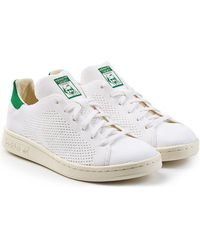 adidas Originals - Stan Smith Perforated Trainers - Lyst