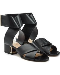 Nicholas Kirkwood | Nini Leather Sandals | Lyst