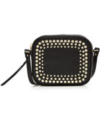 Alexander McQueen - Mini Embellished Leather Camera Bag - Lyst