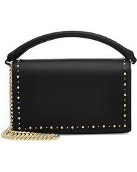 Diane von Furstenberg   Soirée Embellished Leather Top Handle Bag   Lyst