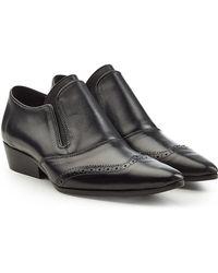 Haider Ackermann - Leather Slip-ons - Lyst