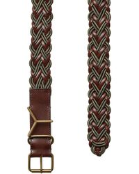 Y. Project - Woven Leather Belt - Lyst