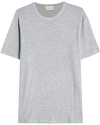 American Vintage - Round Neck T-shirt - Lyst