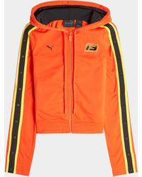Fenty Zipperjacke mit Track-Streifen - Orange