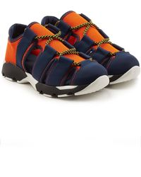 Marni - Trainers With Mesh - Lyst