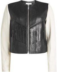 Étoile Isabel Marant   Leather Jacket   Lyst