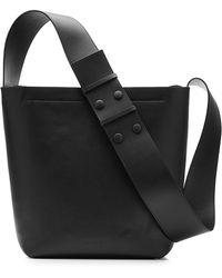 Marni - Leather Messenger Bag - Lyst