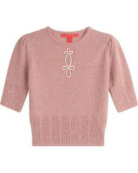 Tommy Hilfiger - Embroidered Wool Pullover - Lyst