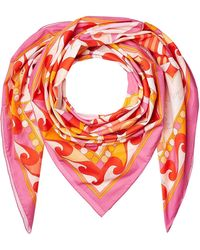 Emilio Pucci - Printed Cotton Scarf - Lyst