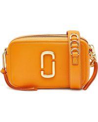 Marc Jacobs - The Soft Shot 21 Leather Shoulder Bag - Lyst