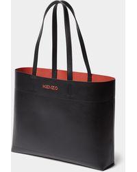 KENZO - Shopper mit Label-Prägung - Lyst