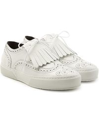 Robert Clergerie - Leather Loafer Trainers - Lyst