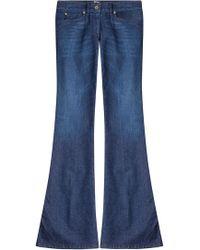 Just Cavalli - Flared-Jeans mit bestickter Gesäßtasche - Lyst